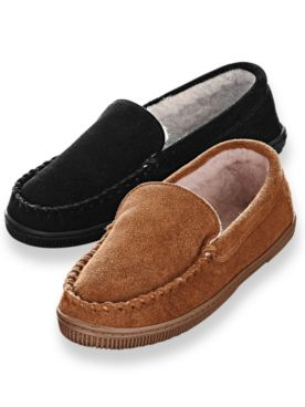 Scandia Woods Genuine Cowhide Suede Loafers
