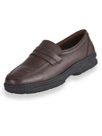 John Blair® Casual Leather Slip-On Shoes - Image 2 of 2