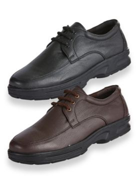 John Blair® Casual Leather Oxford Shoes