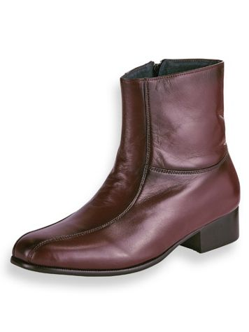 Irvine Park® Side-Zip Leather Dress Boots - Image 1 of 4