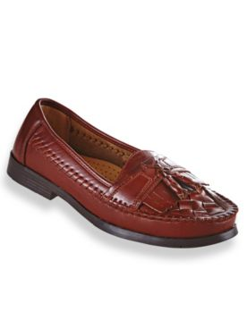 Deer Stags® Leather Tassel Loafers