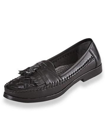 Deer Stags® Leather Tassel Loafers - Image 3 of 3