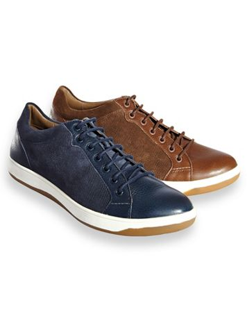 Hush Puppies® Casual Leather Lace-Up Shoes - Image 1 of 3