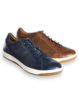 Hush Puppies® Casual Leather Lace-Up Shoes