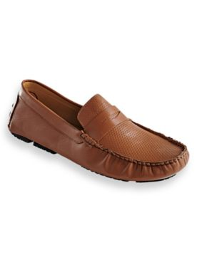 Scandia Woods Leather Penny Loafers