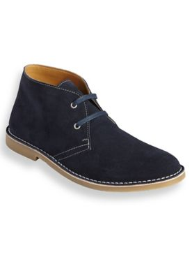 Scandia Woods Suede Casual Desert Boots