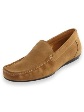 Scandia Woods Suede Casual Slip-On Shoes