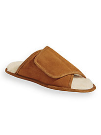 Scandia Woods Suede Wrap Slippers