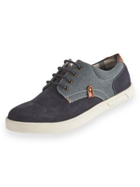Scandia Woods Suede and Canvas Shoes