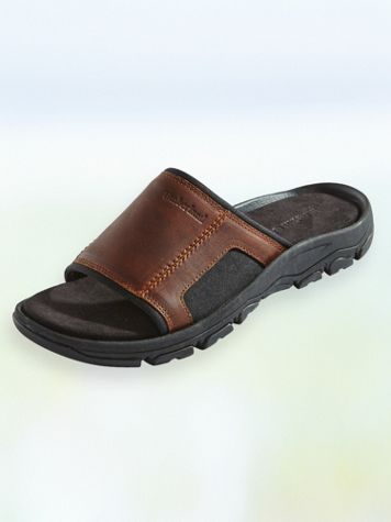 Timberland® Roslindale Leather Slides - Image 1 of 3