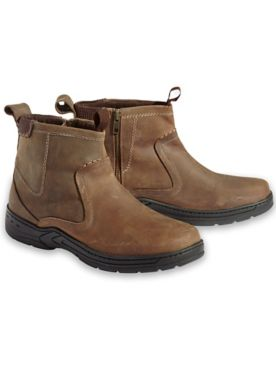 Scandia Woods Leather Side-Zip Boots