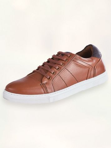 Scandia Woods Textured Casual Leather Shoes - Image 1 of 4
