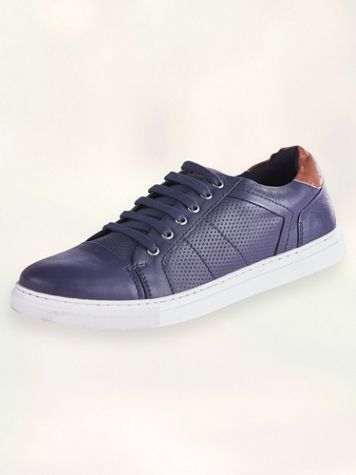 Scandia Woods Textured Casual Leather Shoes - Image 1 of 2