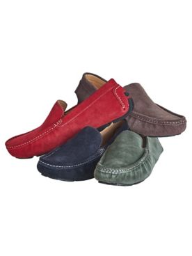 Scandia Woods Suede Driving Mocs