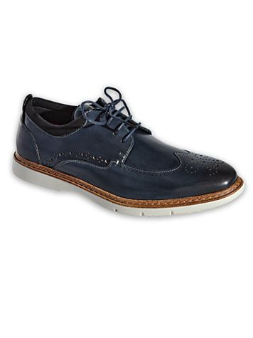 Stacy Adams Synergy Wingtip Oxford Shoes - Image 1 of 4