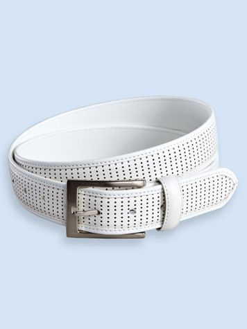Irvine Park® Perforated Leather-Look Belt - Image 2 of 2