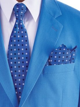 John Blair® Tie and Pocket Square