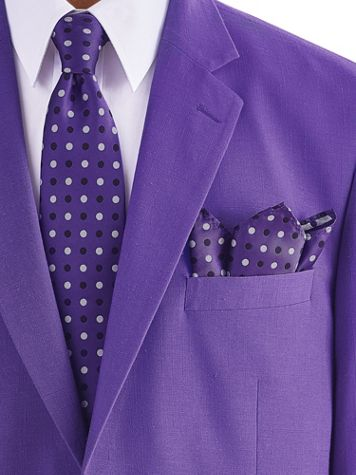 John Blair® Tie and Pocket Square - Image 0 of 1