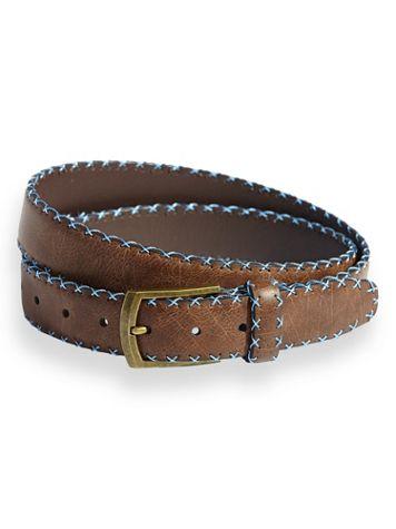 Scandia Woods Stitched-Edge Belt