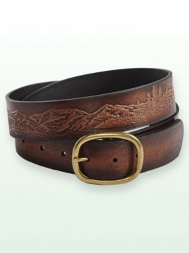 Scandia Woods Embossed Belt