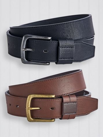 Scandia Woods Bonded Leather Belt - Image 1 of 1
