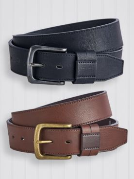 Scandia Woods Bonded Leather Belt