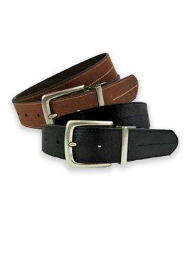 Wrangler Leather Reversible Belt