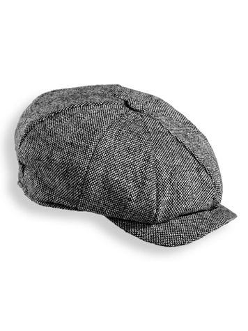 Scala Tweed Newsboy Cap - Image 0 of 1