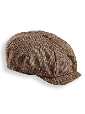 Scala Tweed Newsboy Cap - Image 2 of 2