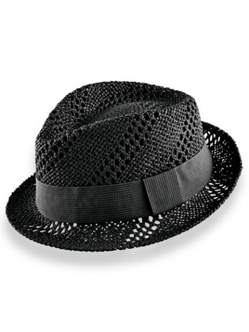 Scala Vented Trilby Hat - Image 2 of 2