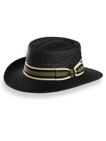 Scala Vented Gambler Hat - Image 0 of 1
