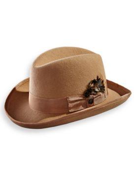 Stacy Adams® Wool Homburg Hat