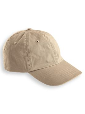 Garment-Washed Twill Cap