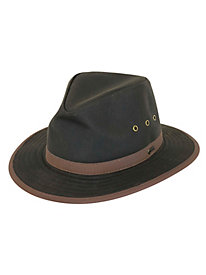 Outback Trading Madison River Oilskin Hat