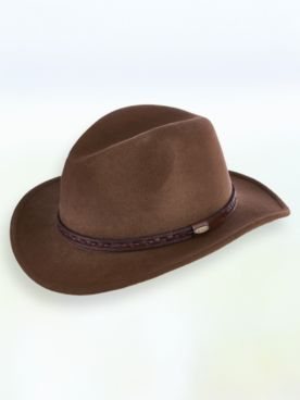 Scala™ Wool Felt Crushable Safari Hat