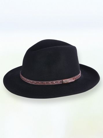 Scala™ Wool Felt Crushable Safari Hat - Image 3 of 3