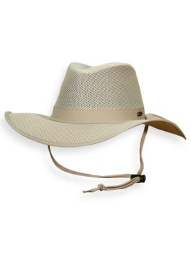 Stetson® No Fly Zone Mesh Traveler Hat