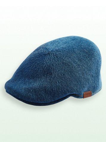 Kangol® Denim-Look Flat Cap - Image 2 of 2