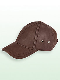 Stetson® Leather Ball Cap