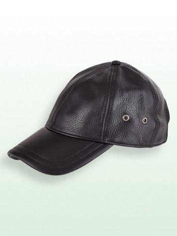 Stetson® Leather Ball Cap