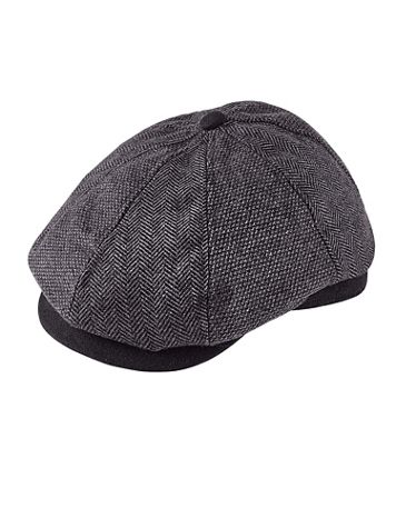 Dorfman Pacific® Wool-Blend Newsboy Cap - Image 1 of 1