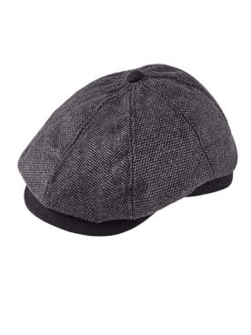 Dorfman Pacific® Wool-Blend Newsboy Cap