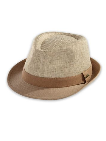 Stetson Reeded Fabric Fedora - Image 1 of 3