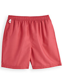 Scandia Woods Solid Swim Trunks by Blair