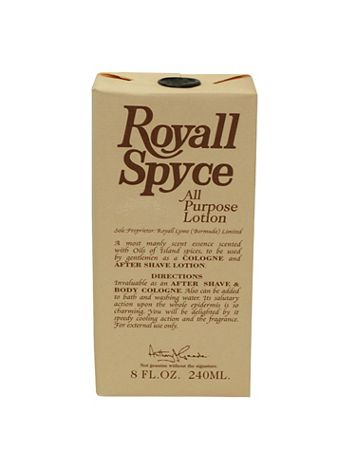 Royall Spyce Of Bermuda All Purpose Lotion / Aftershave Cologne Splash-Spray for Men - 8 oz. - Image 2 of 2