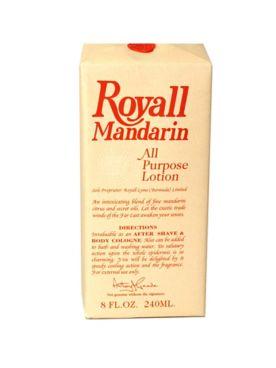 Royall Mandarin Of Bermuda All Purpose Lotion/Aftershave Cologne Splash-Spray for Men - 8 Oz.