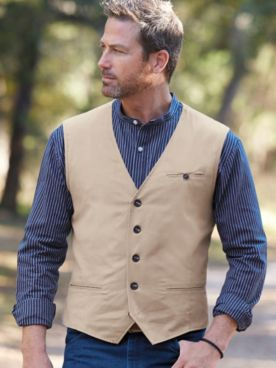 Scandia Woods Wrinkle- and Stain-Resistant Vest