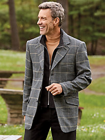 Scandia Woods Convertible Sportcoat by Blair