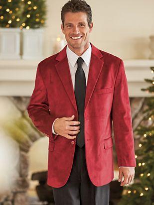 1950s Men's Clothing Irvine Park® Velvet Sportcoat $99.99 AT vintagedancer.com