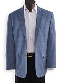 Irvine Park® Plaid Sportcoat by Blair